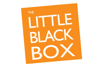 the little black box - orange background