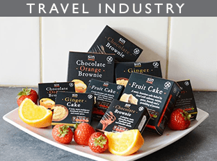 gluten free goodies for the travel industry