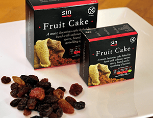a gorgeously moist fruit cake