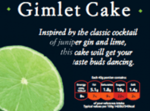 the brand new gimlet cake