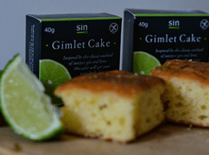 our beautifully moist gimlet cake