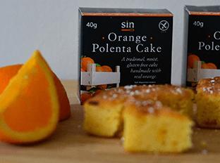 our delicious orange polenta cake